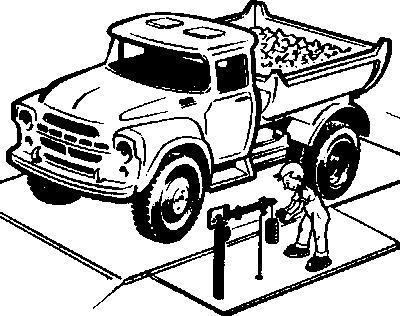 Весы автомобильные рычажные старого образца